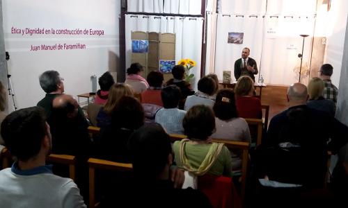 """Presentación de libro y charla/coloquio """"ÉTICA Y DIGNIDAD EN LA CONSTRUCCIÓN DE EUROPA"""""""