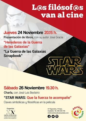 """Presentación de los libros: """"HEREDEROS DE LA GUERRA DE LAS GALAXIAS"""" y """"LA GUERRA DE LAS GALAXIAS SCRAPBOOK""""."""