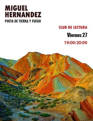 Club de lectura dedicado a Miguel Hernández