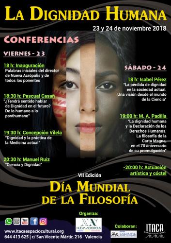 Día Mundial de la Filosofía: LA DIGNIDAD HUMANA