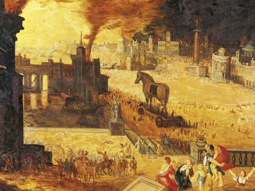 Schlieman y la búsqueda de Troya