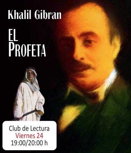 """Club de lectura, libro: """"El Profeta"""