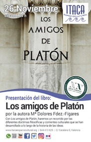 Presentación del libro: Los amigos de Platón