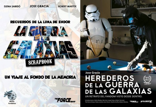 """PRESENTACIÓN DEL LIBRO """"LA GUERRA DE LAS GALAXIAS SCRAPBOOK"""""""