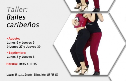 Taller gratuito: Bailes caribeños