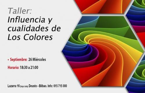 Taller gratuito: Influencia y cualidades de los Colores