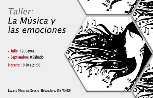 Taller gratuito: La música y las emociones