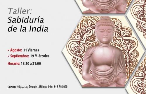 Taller gratuito: Sabiduría de la India